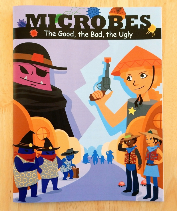 Microbes cover.