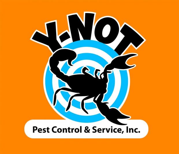 Y-Not Pest Control: Logo