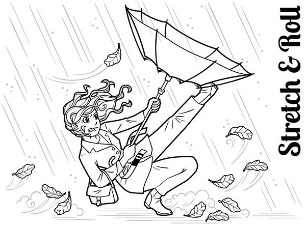 Windy Rainy Day BJJ