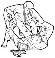 Brazilian Jiu-jitsu Spider Guard