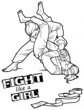 Brazilian Jiu-jitsu: Fight Like a Girl