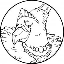 Fur, Feathers & Frocks: Bird Noble