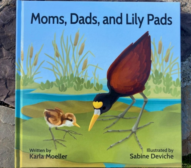 Moms, Dads, and Lily Pads: Physical book cover