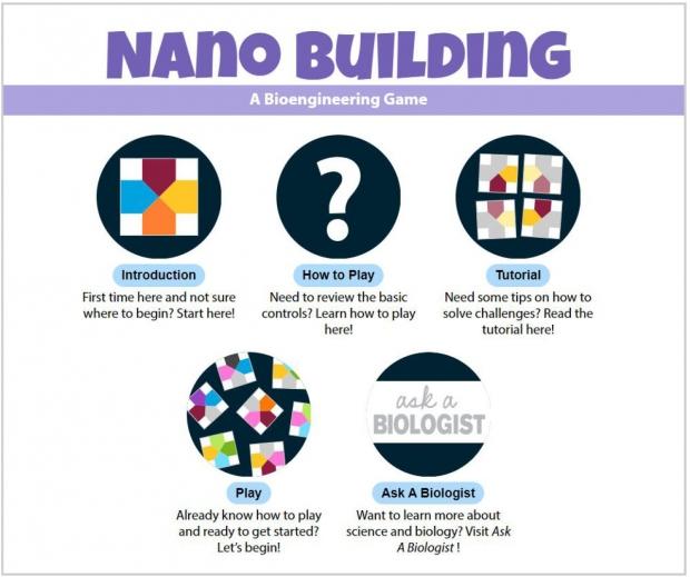 Nano Building: Main Screen